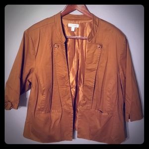 Fawn Brown Dress Jacket